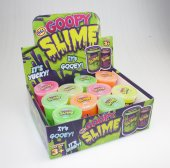 Goopy Slime 12 pcs display