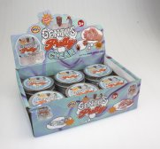 Genius putty Clear 12 pcs display