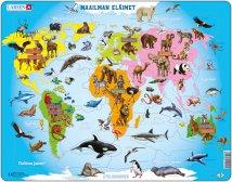 Larsen Maailman eläimet (Maxi) FI 28 palaa