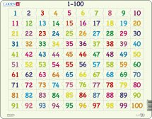 Larsen Palapeli 1-100 (Maxi) 100 palaa