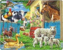 Larsen Maatilan eläimet (Maxi) 23 palaa