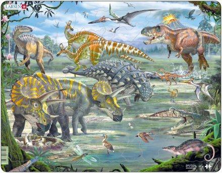 Larsen Dinosaurukset (Maxi) 65 palaa