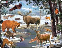 Larsen Pohjoisen metsä (Maxi) 54 palaa