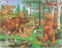 Larsen Metsäneläimet (Maxi) 29 palaa