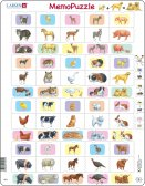 Larsen Memo Parent and Baby animals (Maxi) 40 palaa