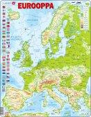 Larsen Euroopan kartta (Maxi) FI 87 palaa