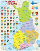 Larsen Suomen poliittinen kartta (Maxi) 48 palaa
