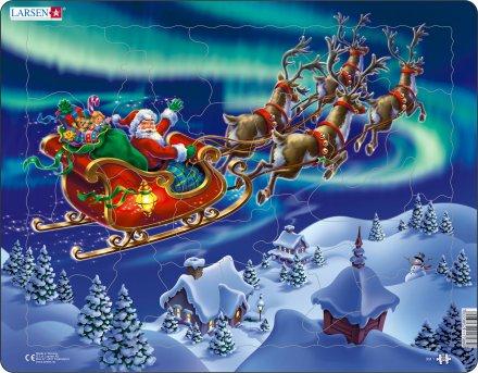 Larsen Joulupukki ja revontulet (Maxi) 26 palaa