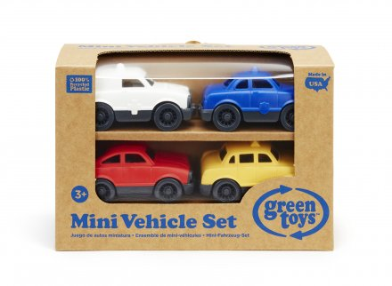 Mini Vehicle 4-pack