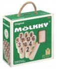 Mölkky in cardboard box with handle