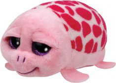 Ty Teeny Tys Shuffler - pink turtle