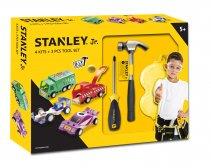 Stanley Jr 4 koottavaa autoa ja 3-osainen työkalusetti