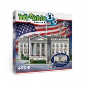 Wrebbit 3d puzzle White House - 490 el.