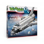 Wrebbit 3D Space Shuttle Orbiter palapeli, 435 palaa
