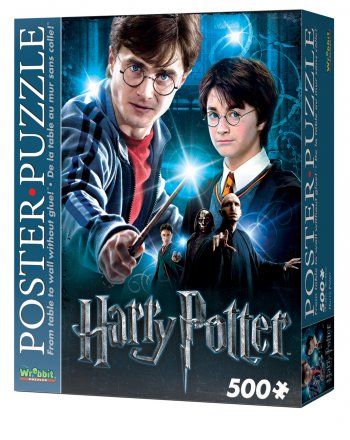 Wrebbit Poster Puzzle - Harry Potter - Harry Potter