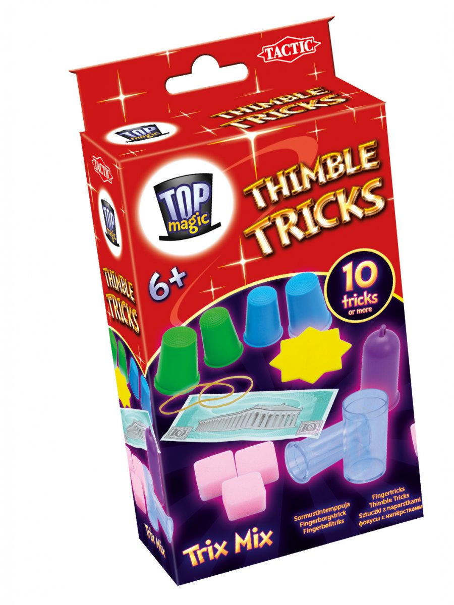 Top Magic Thimble Tricks