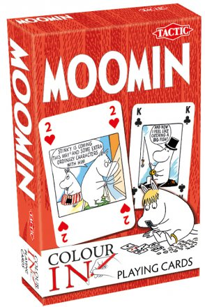 Moomin Color-In - karty