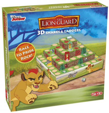 Lion Guard 3D Snakes and Ladders