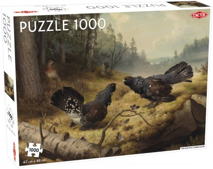 Fighting Capercaillies Puzzle