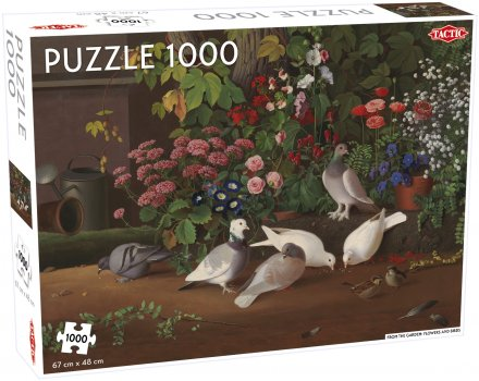 Flowers and Birds Puzzle