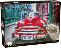 Vintage car in Havana puzzle 500 pcs