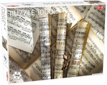 Puslespill 1000 Scrolls of Sheet Music