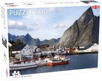 Puzzel Around the World, Northern Stars:  View of the Lofoten - 500 stukjes