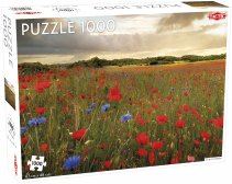 Puzzel Around the World, Northern Stars: Field of Flowers - 1000 stukjes