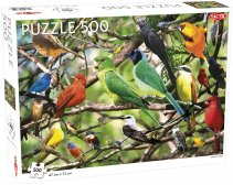 Puzzel Animals: Exotic Birds - 500 stukjes