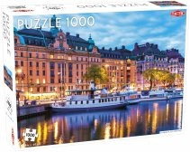 Puzzel Around the World, Northern Stars: Stockholm - 1000 stukjes