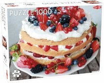 Puzzel Around the World, Northern Stars: Midsommar Cake - 1000 stukjes
