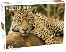 500 pcs puzzle: Jaguar