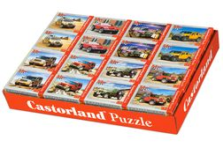 Cars (Mini Puzzel 54 stukjes) 32 in Display