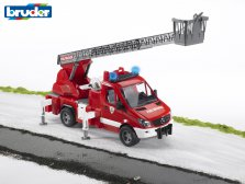 MB Sprinter fire engine with ladder, waterpump and L & S Module