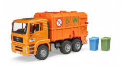 MAN TAG Garbage truck (orange)