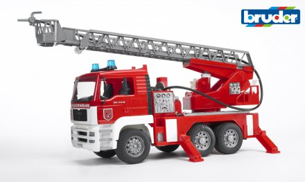 MAN TGA Fire engine with water pump w Light & Sound Module