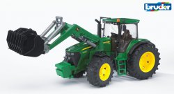 John Deere 7930 with frontloader