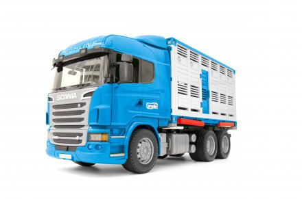 Scania R-Series Cattle transportation truck with 1 cattle