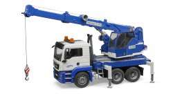 MAN TGS Crane truck with Light + Sound Module