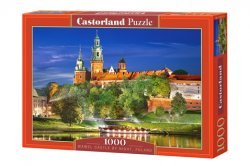 Wawel Castle by night, Poland - 1000 stukjes