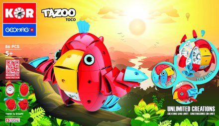 Geomag Tazoo Toco 86 delig