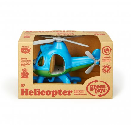 Helicopter Blue Top