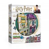 Wrebbit 3d puzzle Harry Potter Madam Malkins & Florean Fortescues Ice Cream 290 el