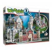 Neuschwanstein Castle, 890 palaa