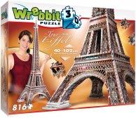 Wrebbit 3D La Tour Eiffel palapeli, 816 palaa