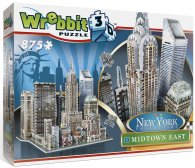 New York Midtown East Wrebbit 3d puzzle 875 el.