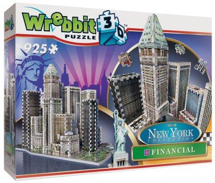 Wrebbit 3D New York Financial (925 palaa)