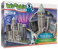 Wrebbit 3D New York Financial (925 palaa)