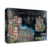 Wrebbit 3D puzzle Gra o Tron Red Keep 845 el