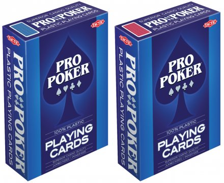 Pro Poker Plastic playing cards